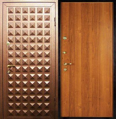 изготовление входных металлических дверей с порошковым напылением