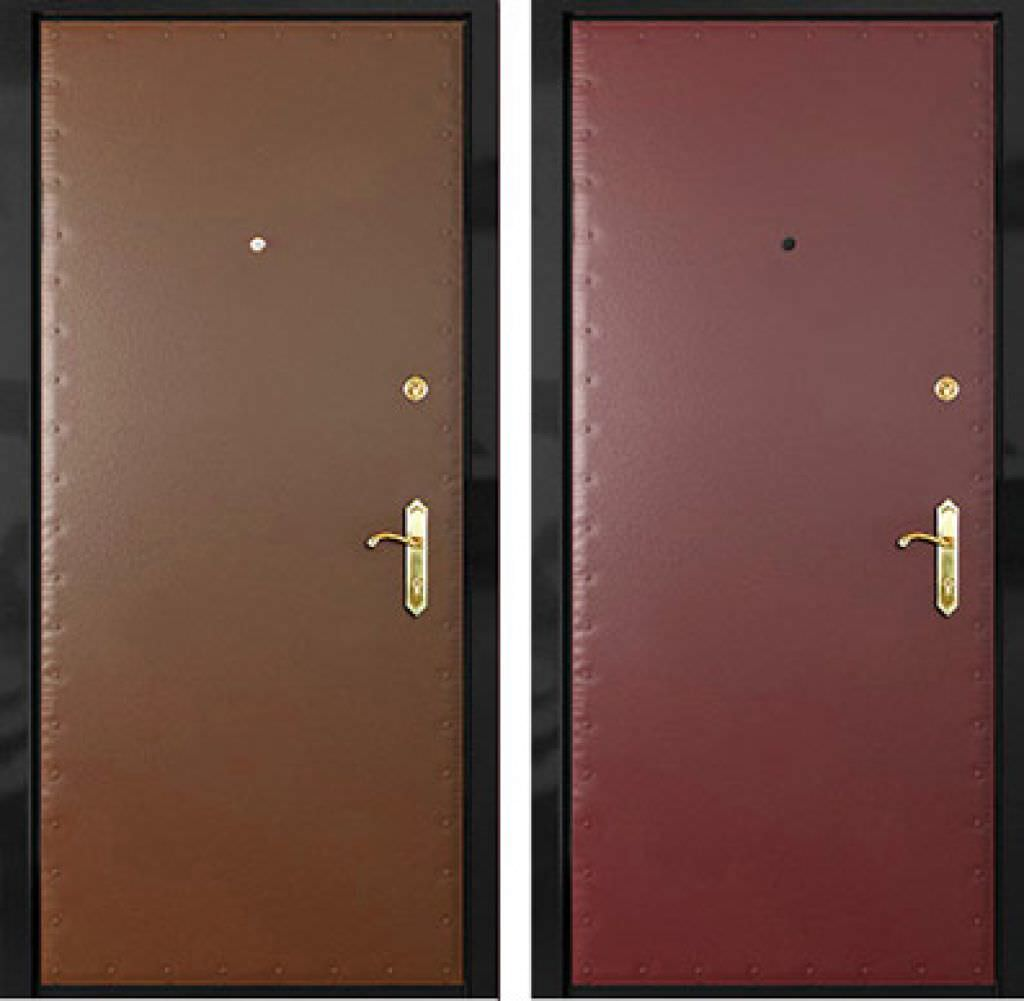 двери металлические входные эконом класса чехов