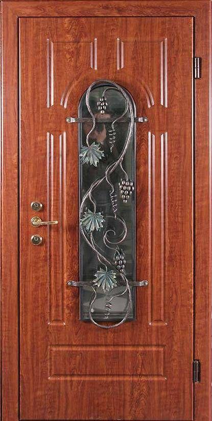 смотреть двери металлические с элементами стекла
