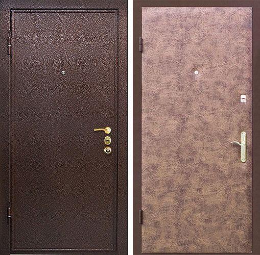 покрытие на металлическую уличную дверь