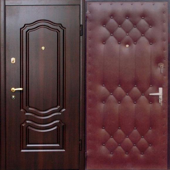 стальная дверь дутая