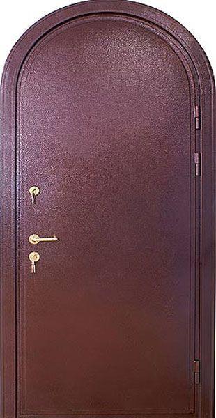 арочным металлическим дверям