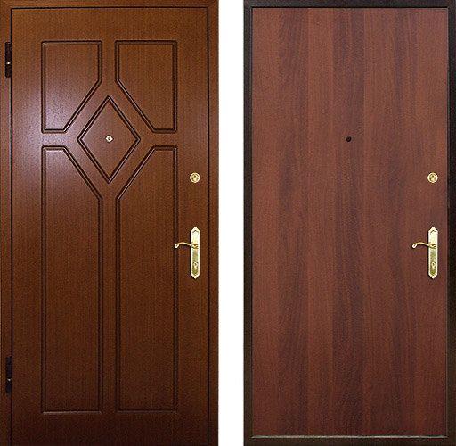 двери металлические для улицы в частный дом румянцево