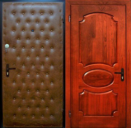 дутые стальны двери