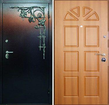 заказать железную дверь с домофоном красноармейск