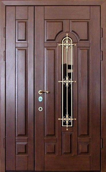 входные двери двухстворчатые металические