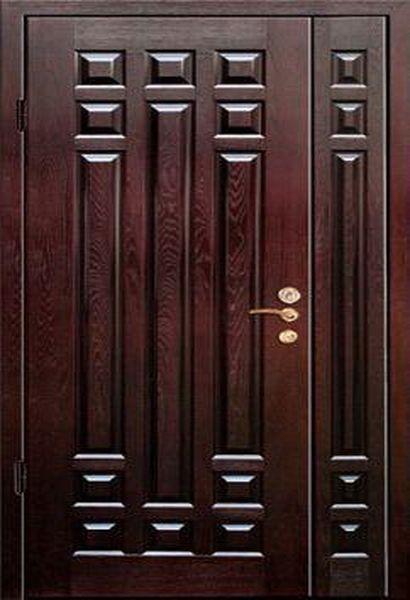 металлические двустворчатая двери на заказ