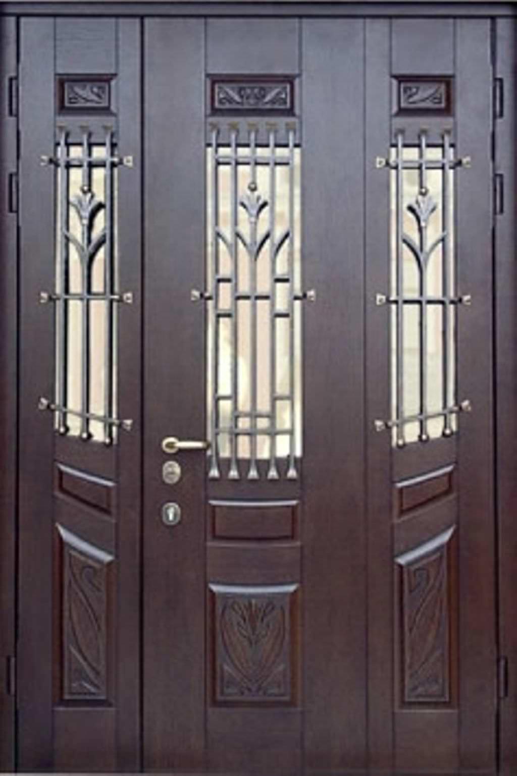 металлические двери парадная под заказ
