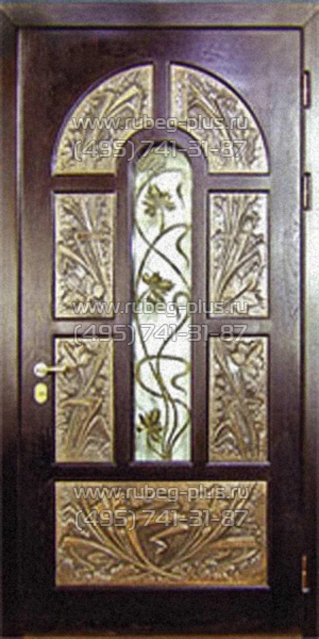 элитные железные двери с ковкой