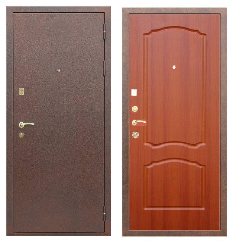 входные металлические двери металл классик