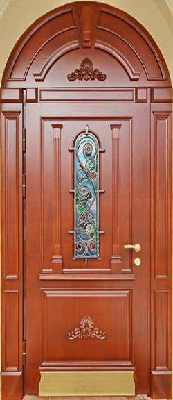 входные арочные двери москва