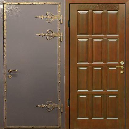 красивые входные двери с порошковым напылением