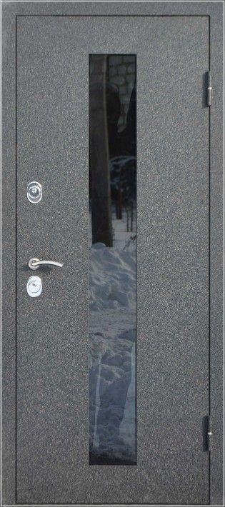 российские входные металлические двери со стеклопакетом