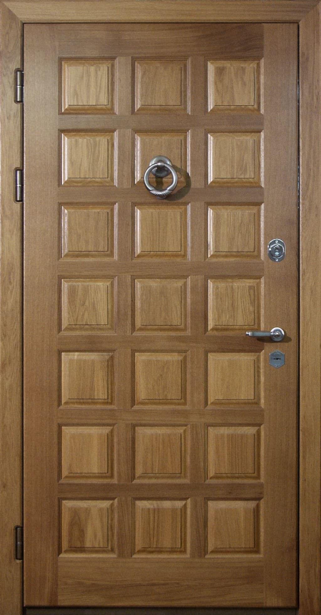 входные двери отделка массив