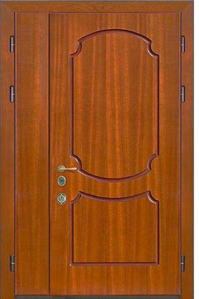 металлическая дверь двухстворчатая офис