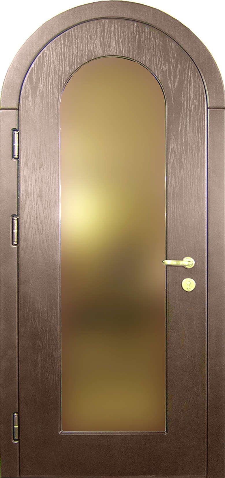 стальные арочные входные двери