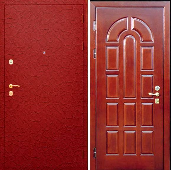 тамбурные металлические двери с порошковым напылением 9000 р от производителя
