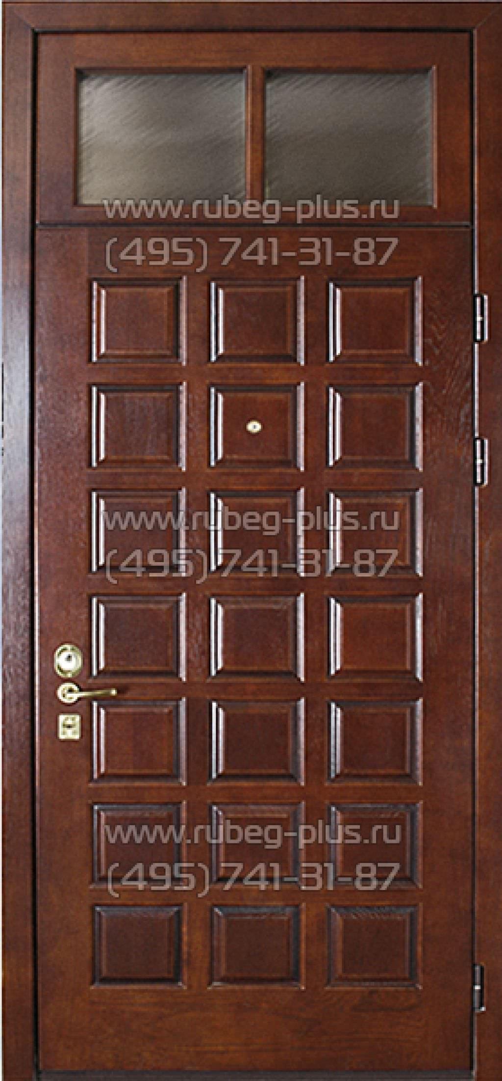 входные двери металлические усиленные с фрамугой с верху