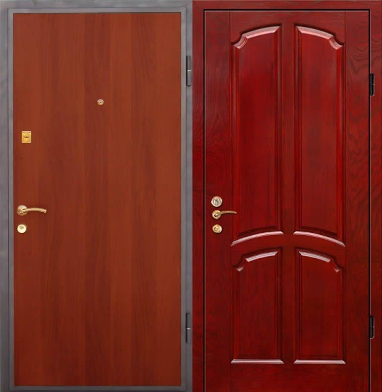 двери входные пвх с ламинатом