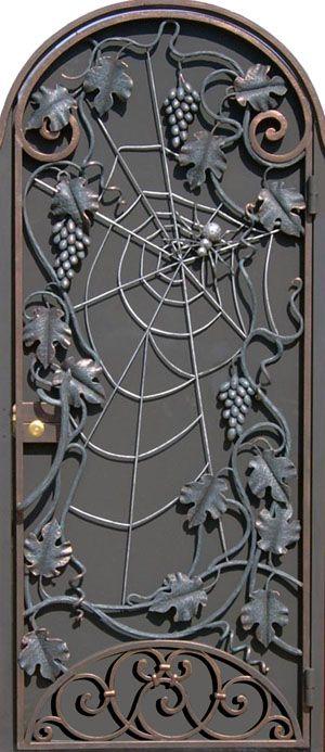узоры из металла на входные двери