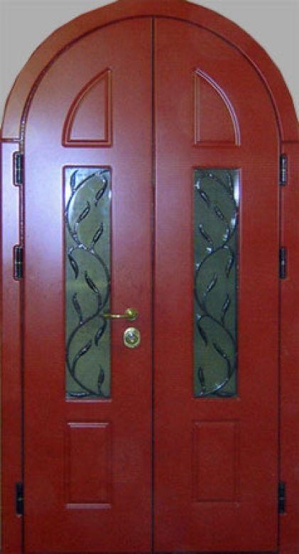входная арочная дверь цены