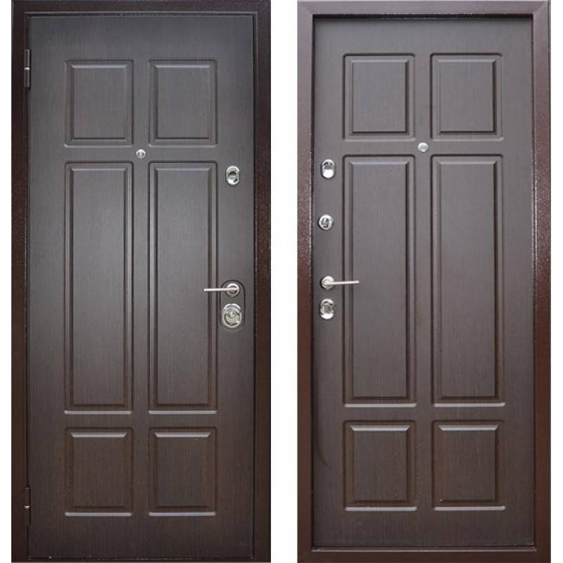 входные двери с пленкой пвх цены