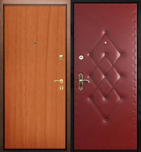 дверь стальная входная отделка ламинат